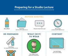 prep for studio lecture